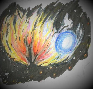 nebulosa de fuego by candythecat523