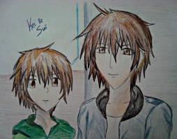 Takishima Sui and Kei by mandapanda72