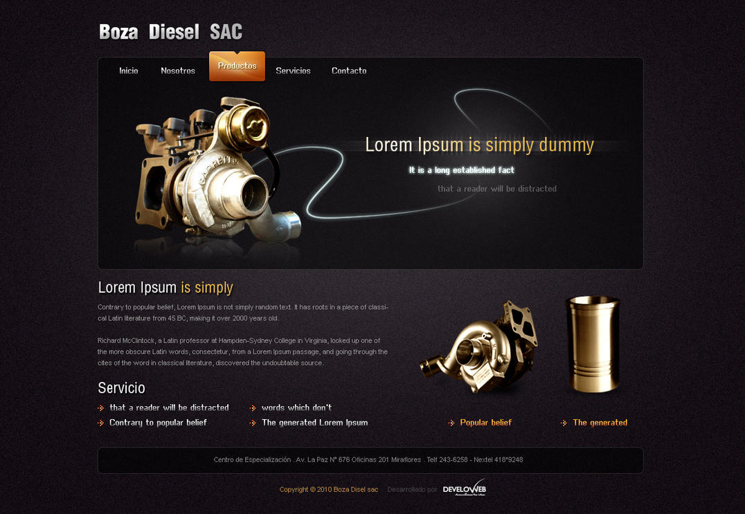 Boza Diesel SAC by sogaso