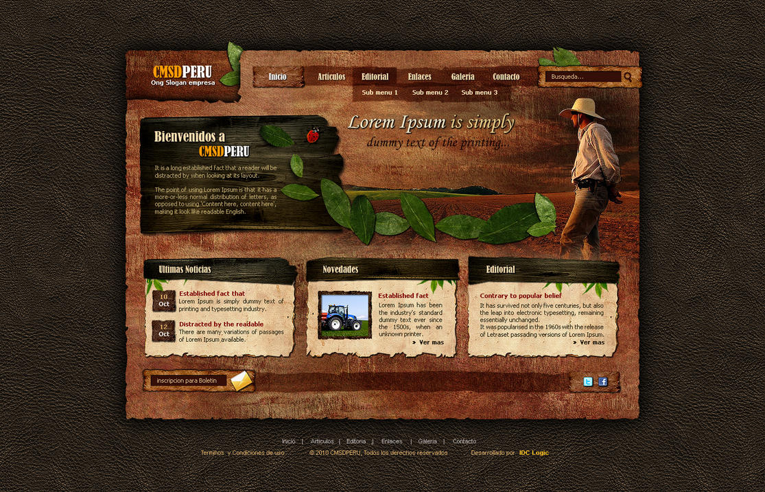 cmsd by sogaso d30svh6 Web Design Inspiration: Inspiring and Creative Web Interface Designs