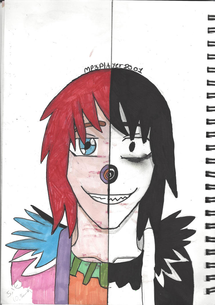 Anime Characters Laughing : Laughing jack before and after by mp player on deviantart