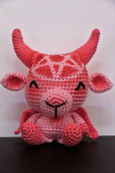 Pink Baphomet by EntranceToInfinity