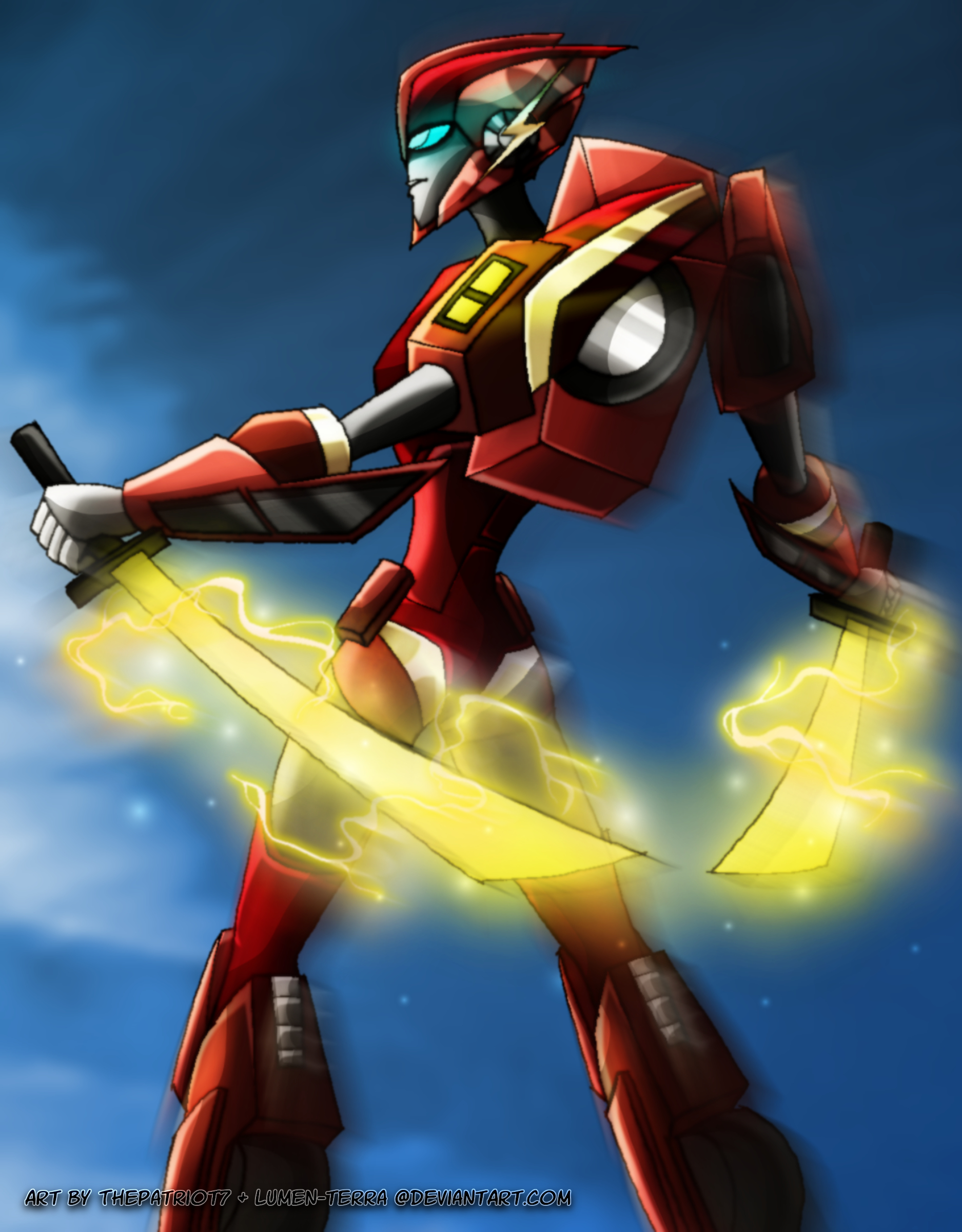 ::Collab:: TFA speed force: Flash by Lumen-Terra