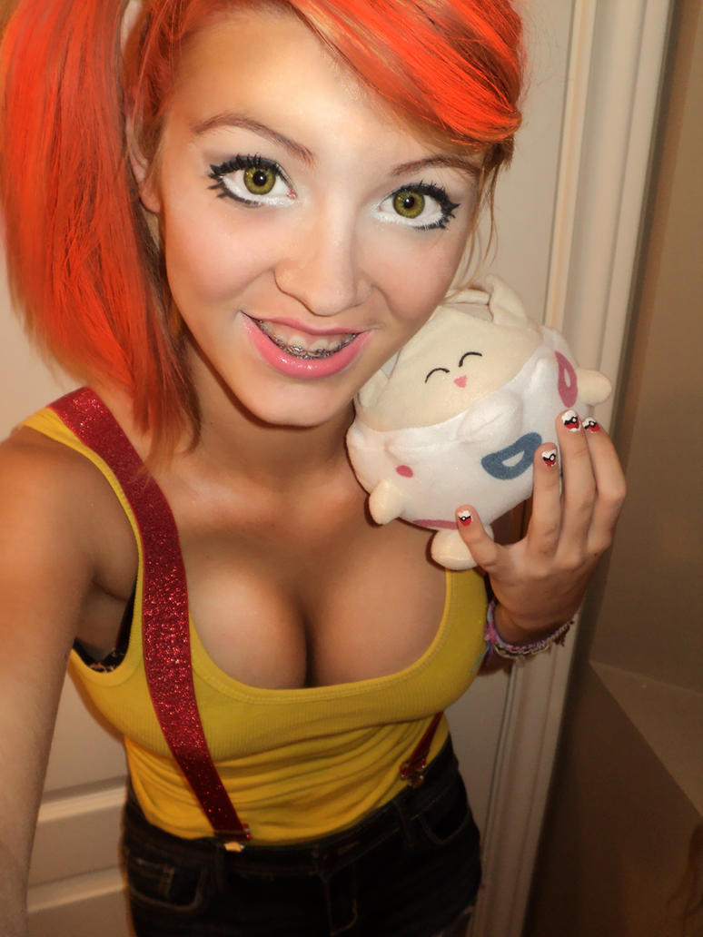 Eating out misty cosplay