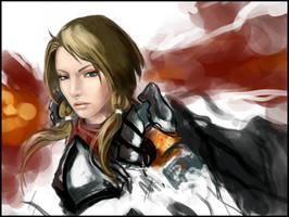 Lady Knight by w3etiki