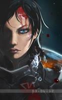 Shepard by w3etiki