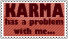 Stamp 002 - Karma by Invisible-Touch