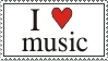 Stamp 009 - I Love Music by Invisible-Touch