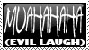 Stamp 023 - Evil Laugh by Invisible-Touch