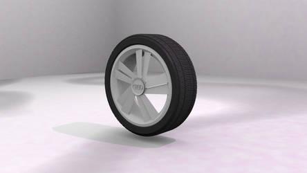 Audi tire