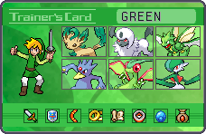 Green Links Trainer Card by LannaMisho
