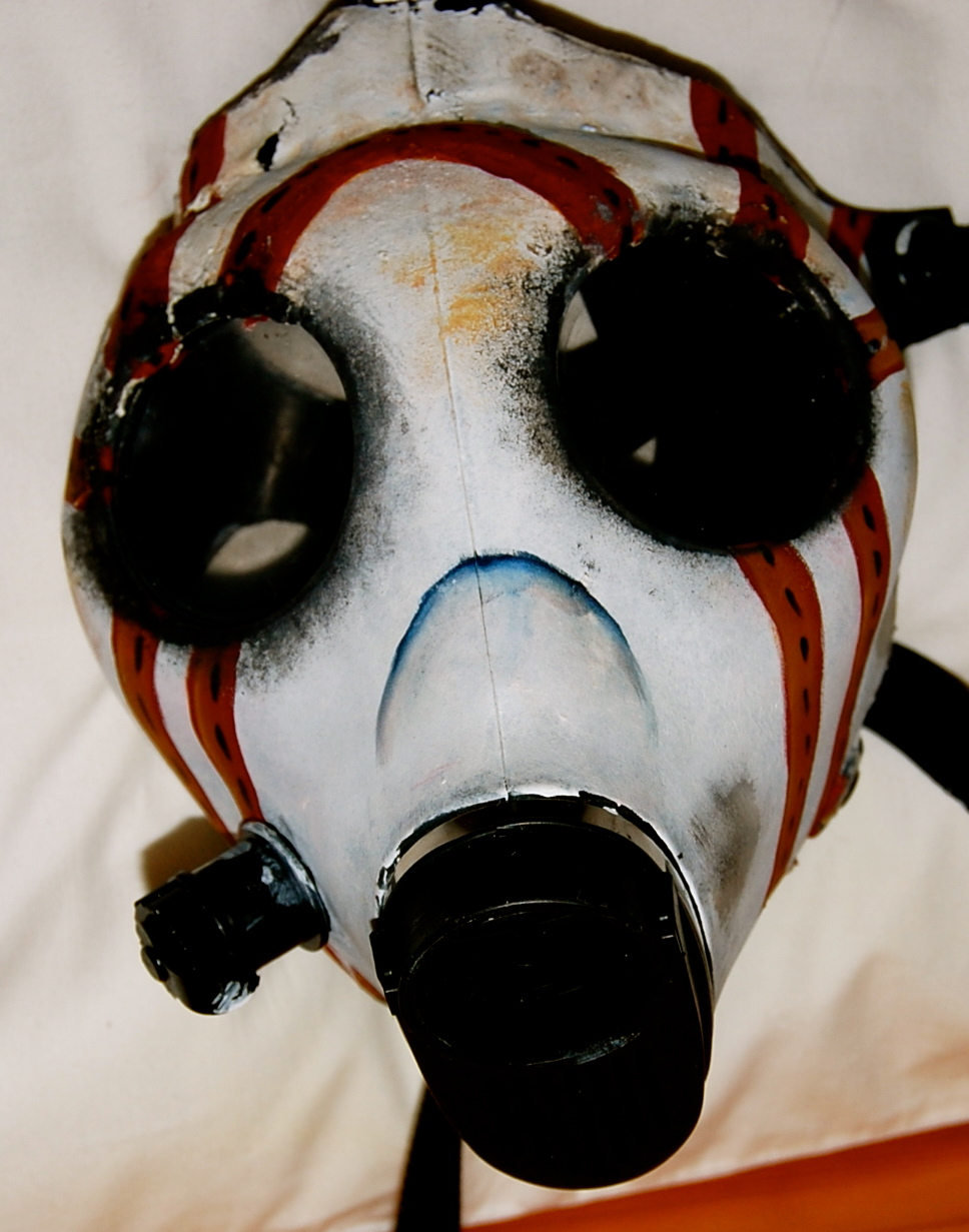 how to make psycho mask