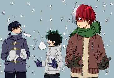 Winter Boys by hoenamaki