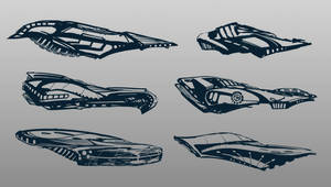Ship doodles