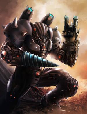 Bane Juggernaut by papillonstudio