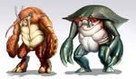 Crustacean character part 2