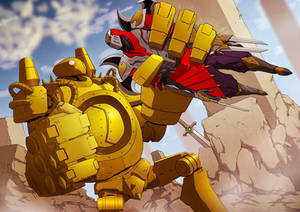 League of Legends : Blitzcrank X zed by papillonstudio