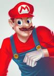 Super Mario by papillonstudio