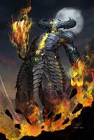 Corrupted Shinnok mecha MKX by papillonstudio