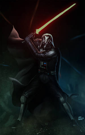 DARTH VADER is BACK by papillonstudio