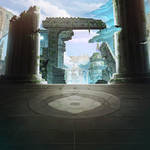 Ancient Ruins-Game Background