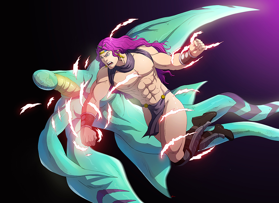 Kars Punching The Ultimate Being by papillonstudio