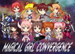 COMMISSION : Magical Girl Convergence