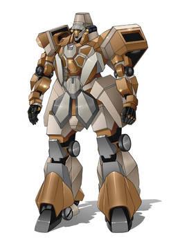 COMMISSION : Desert Patrol Armor