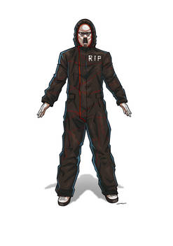 COMMISSION : R.I.P. Scientist Uniform