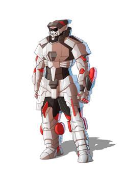 COMMISSION :  R.I.P. Heavy Trooper