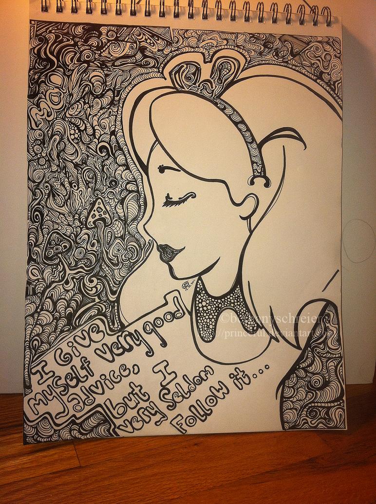 Alice in Wonderland by princerul