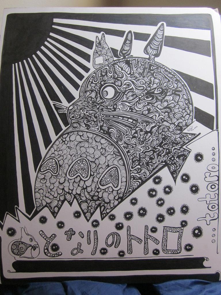 Totoro by princerul