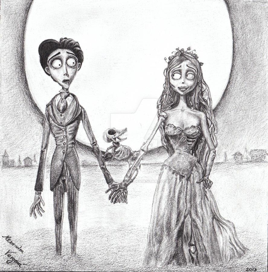 Tim Burton's Corpse Bride by Alex-and-raV on DeviantArt