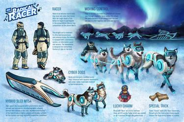Oloka, Winter Atomic Dog