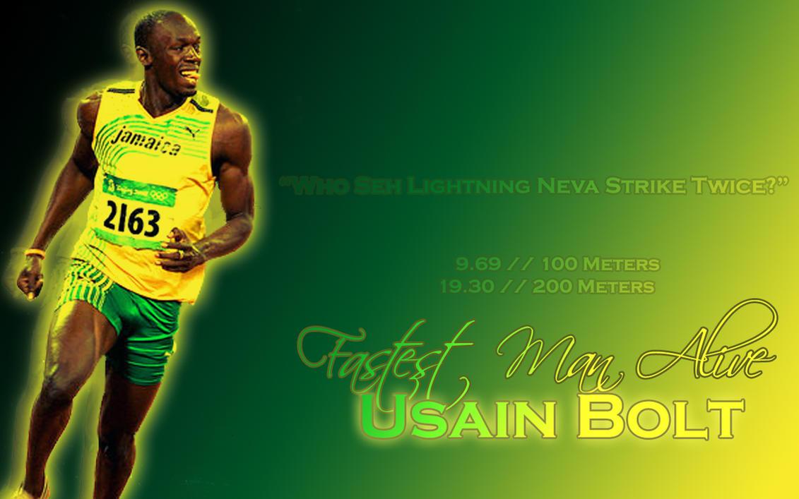 Usain Bolt Wallpaper by ~Ebs2Hott4U on deviantART