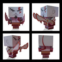 Kratos Cubee by inunokanojo