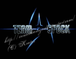 Team Spock shirt-front by inunokanojo