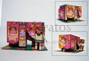Pink Happy Box by inunokanojo