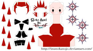 Chibi Axel Template by inunokanojo