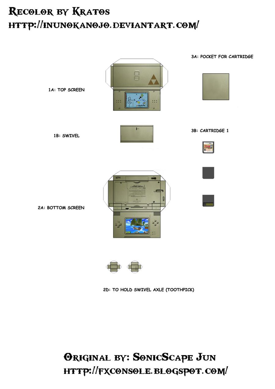 Zelda DS by inunokanojo