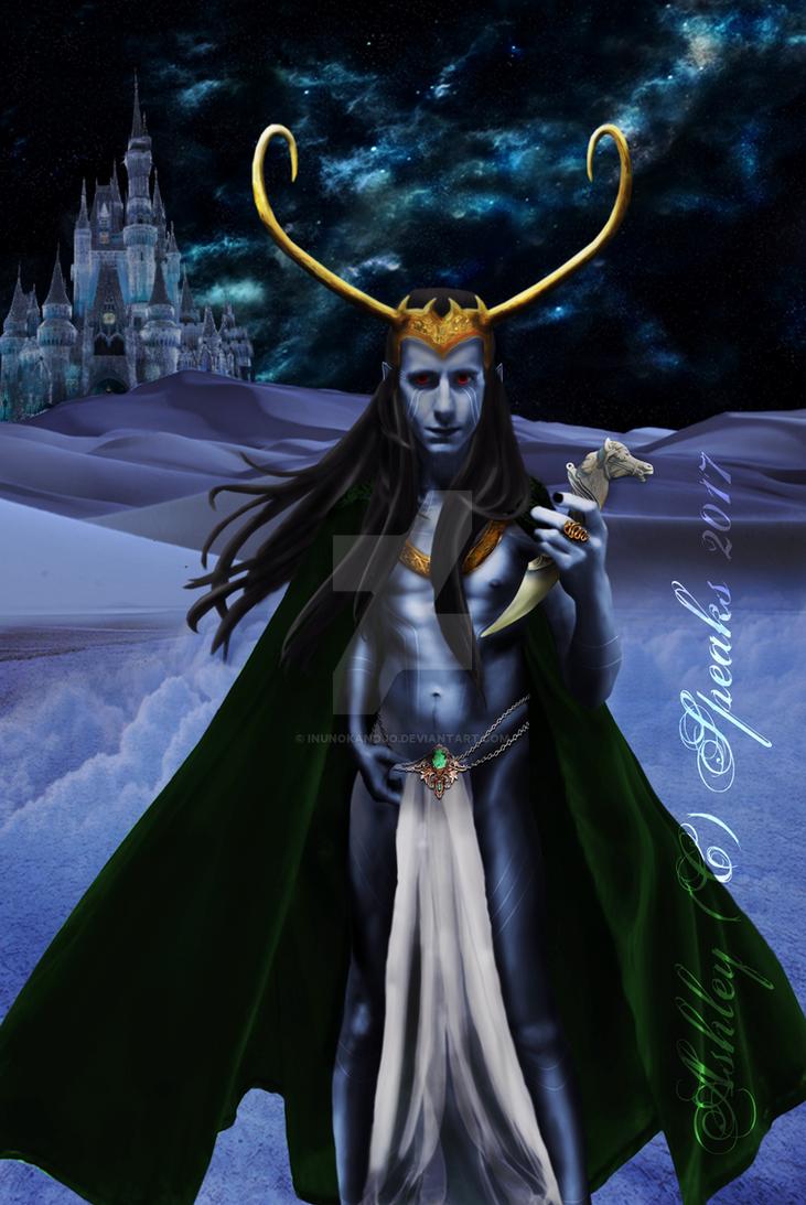 Jotun Loki by inunokanojo