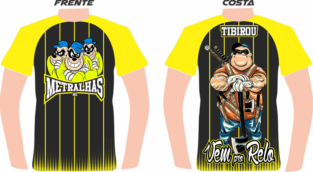 CamisetaMetralha by tibirou