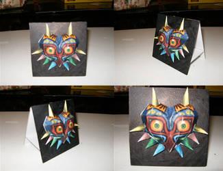 Majoras Mask by Edward-Rose