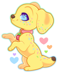 .: Teeny Bean ~ Sprinkle :. by Mythie-Paws