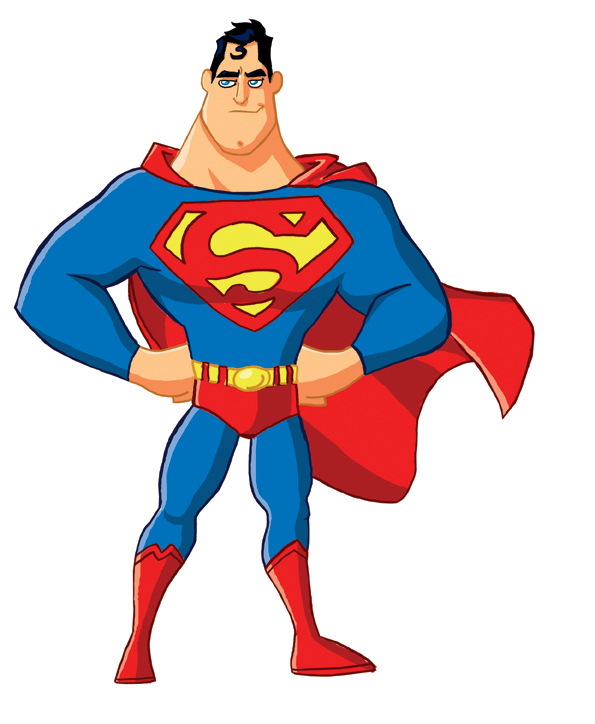 Super-Toon Superman by kevinbolk