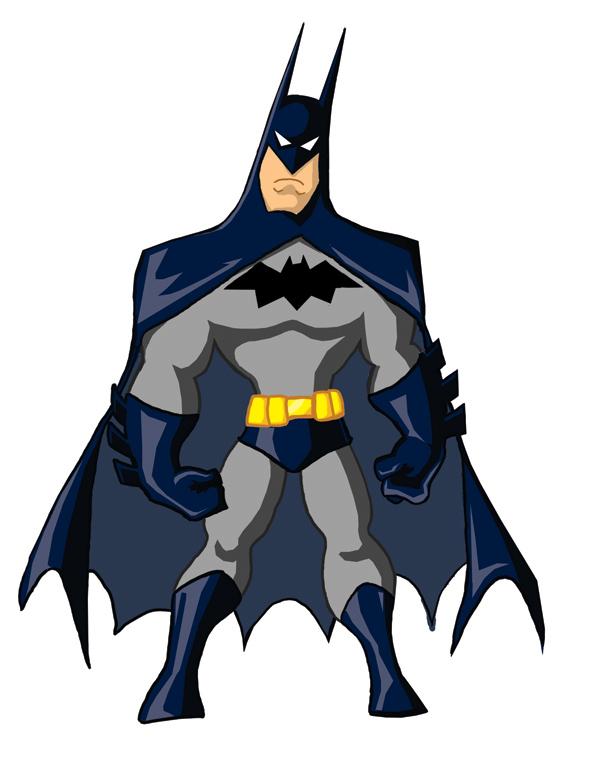 Super-Toon Batman by kevinbolk