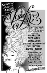 Voices For Concert Flyer by kevinbolk