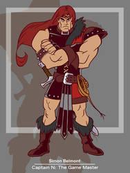 Captain N: Simon Belmont by kevinbolk