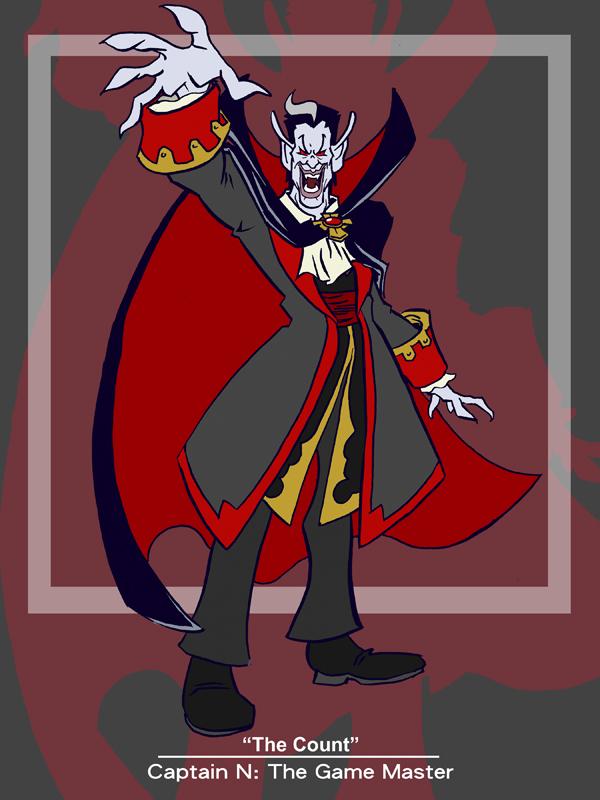 Captain N The Count By Kevinbolk On Deviantart