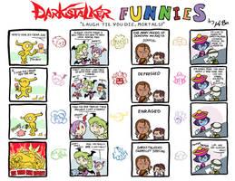 Darkstalker Funnies by kevinbolk